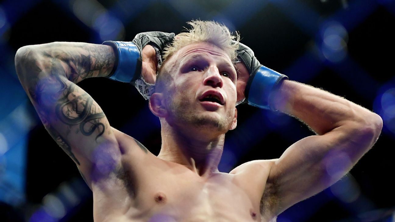 TJ Dillashaw has been suspended two years by USADA for EPO use - TJ