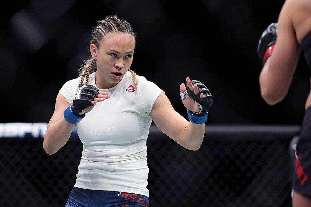 MMA: UFC Fight Night-Philadelphia-Kowalkiewicz v Waterson
