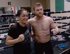 VIDEO: Bellator champion Ilima-Lei MacFarlane Trains With Boxing Superstar Canelo Alvarez - Ilima
