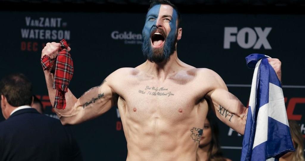 UFC: Paul Craig hoping 'piggyback' off legends like Shogun Rua in bid for top 10 - Craig
