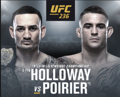 UFC 236: Two Belts on the Line -