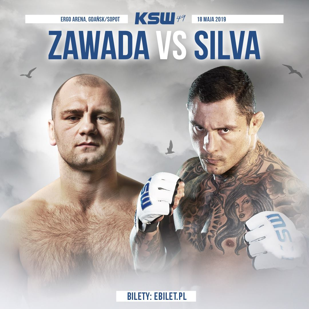 Thiago Silva vs. Martin Zawada set for KSW 49 -