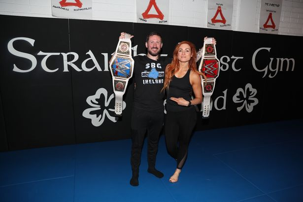 John Kavanagh praises WWE star Becky Lynch: She has that star quality -