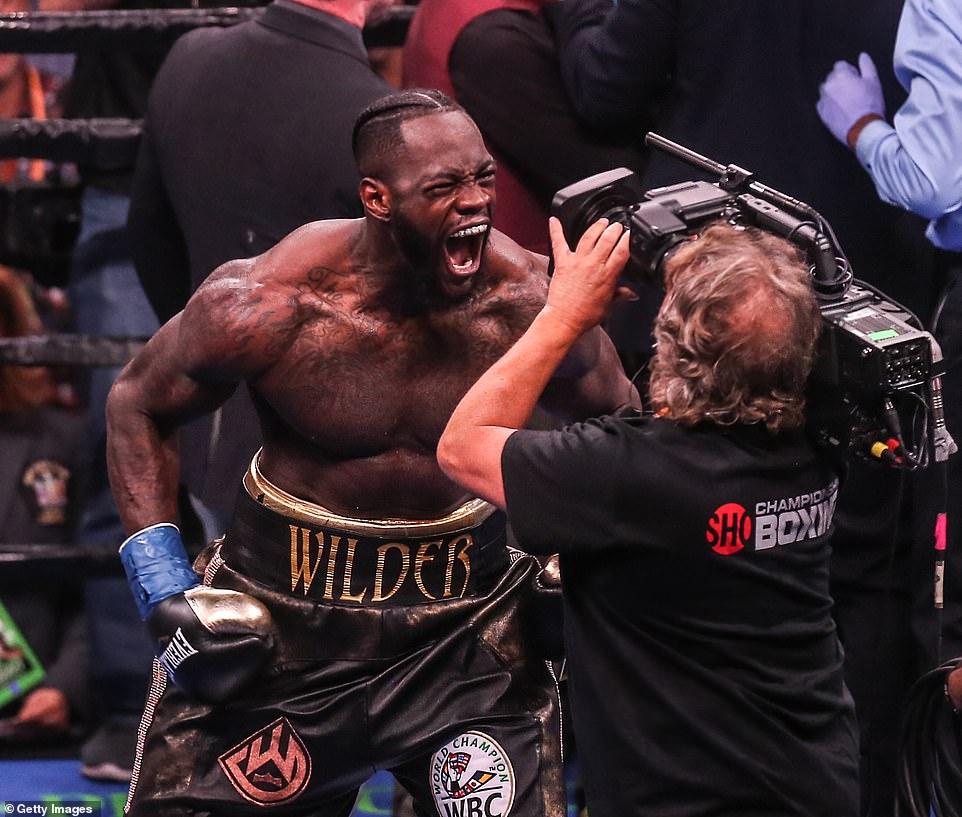 Joe Rogan compares Deontay Wilder to Mike Tyson following brutal KO win over Dominic Breazeale -