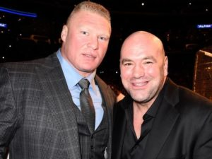 Brock Lesnar is retiring from MMA, according to Dana White - Brock