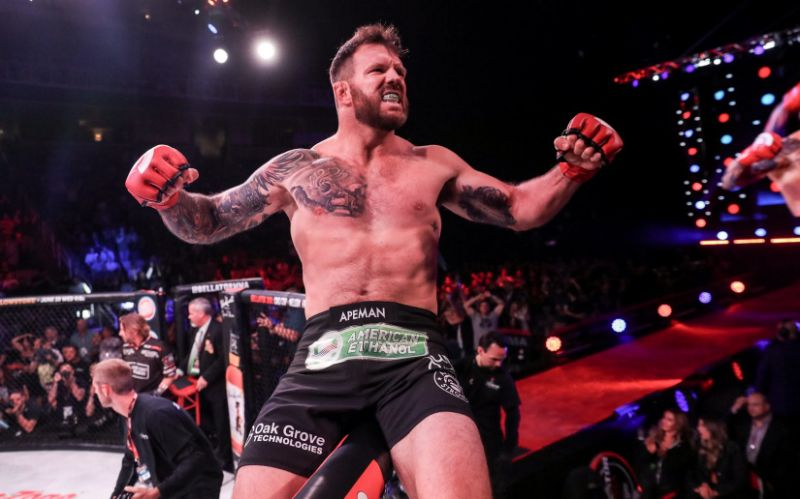 Ryan Bader will defend his Bellator HW title next instead of LHW -