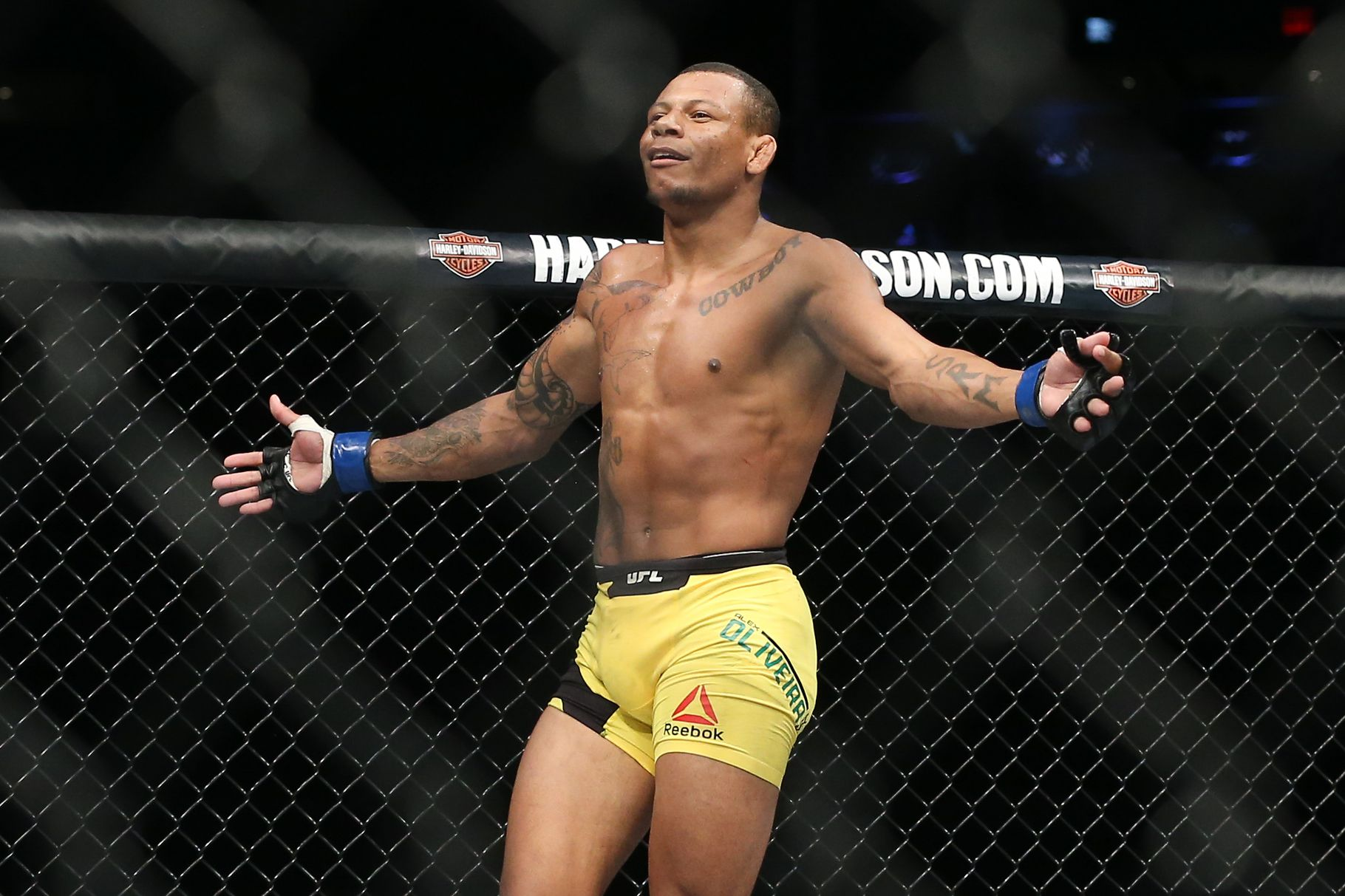 Cowboy Oliveira hiding from police after serious domestic abuse incident -