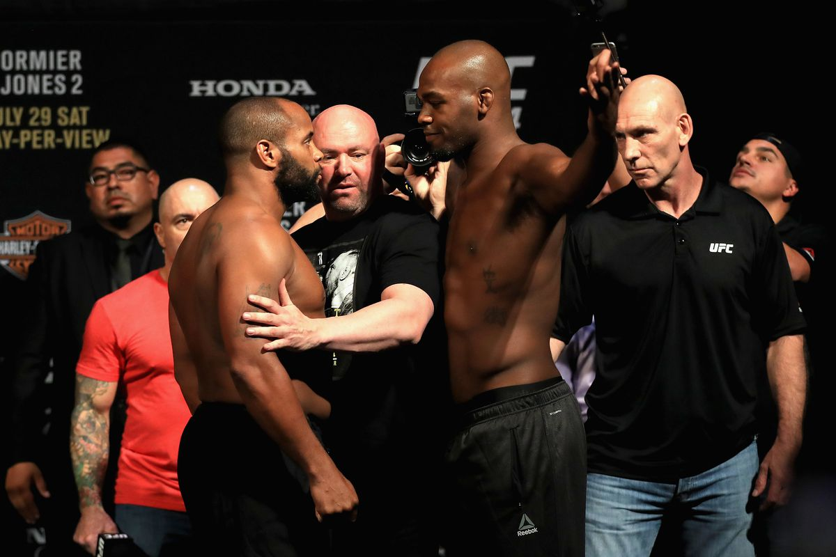 Jon Jones gives massive respect to DC; says trilogy fight won't happen at HW - Cormier