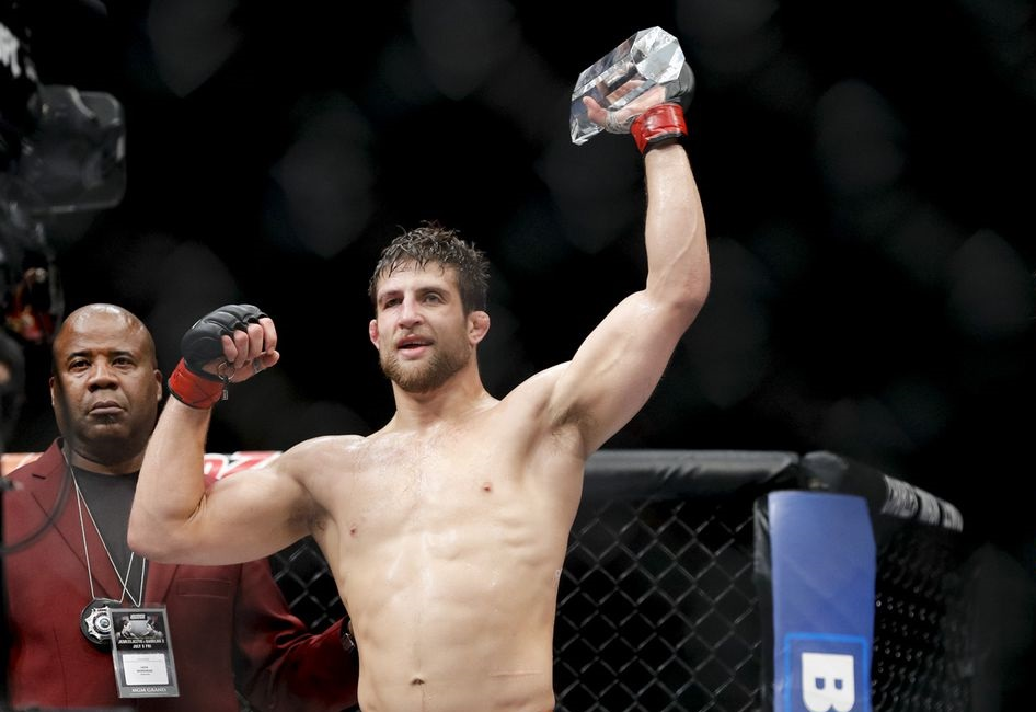 UFC Fight Night 151 Results - Andrew Sanchez Defeats Marc-Andre Barriault via Unanimous Decision -
