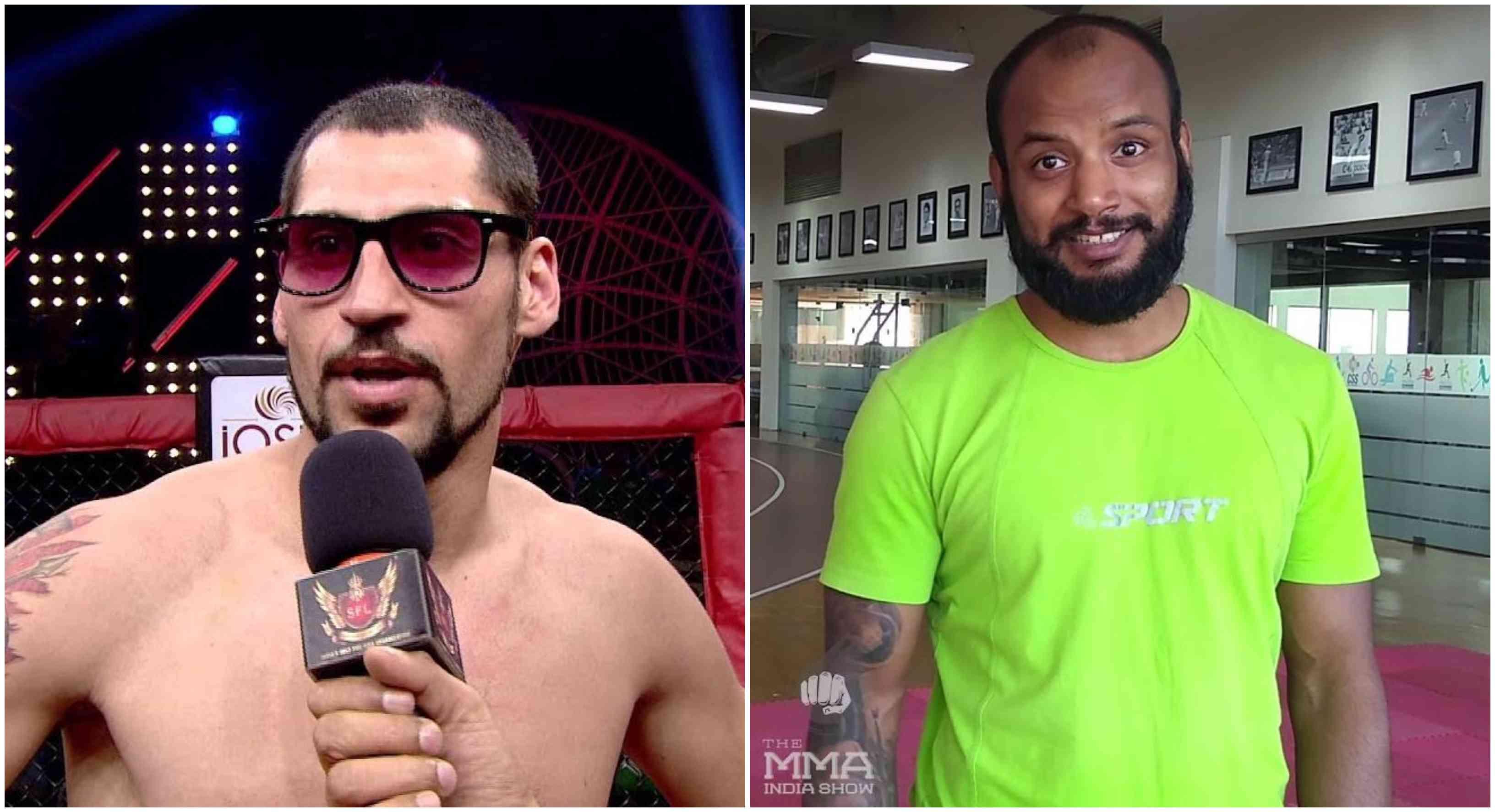 BREAKING: Jason Solomon vs. Srikant Sekhar official for Matrix Fight Night on June 29 - Solomon