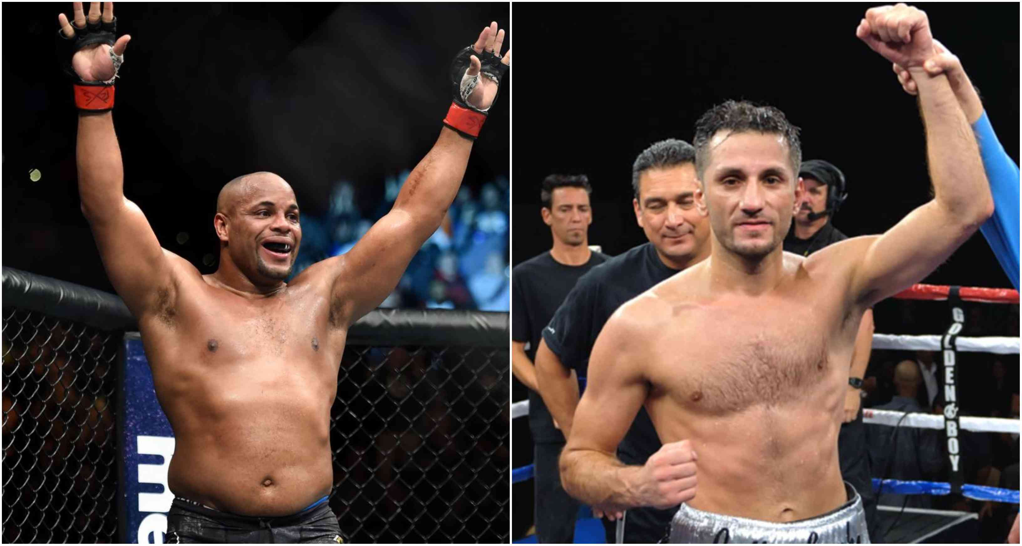 Daniel Cormier and boxer Sergio Mora get into a twitter beef! - Cormier