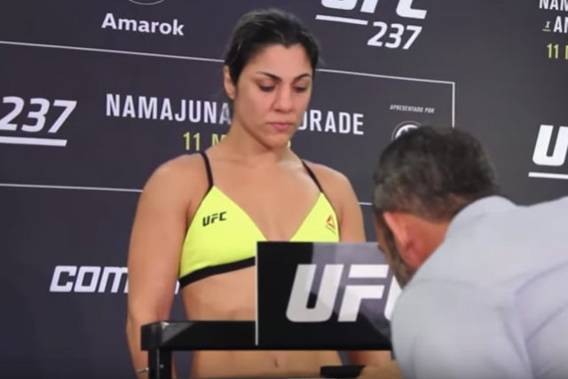 Bethe Correia fined 30% of her purse after 5 pound weight miss -