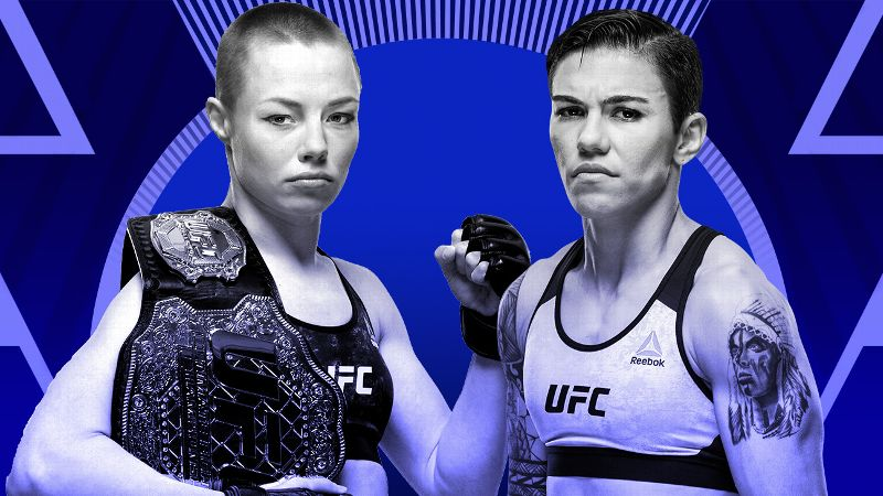 UFC 237 'Namajunas vs. Andrade' - Play by Pay Updates & LIVE Results -