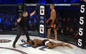 WATCH: Raymond Daniels' spectacular 720 spinning hook knockout at Bellator Birmingham - Raymond Daniels