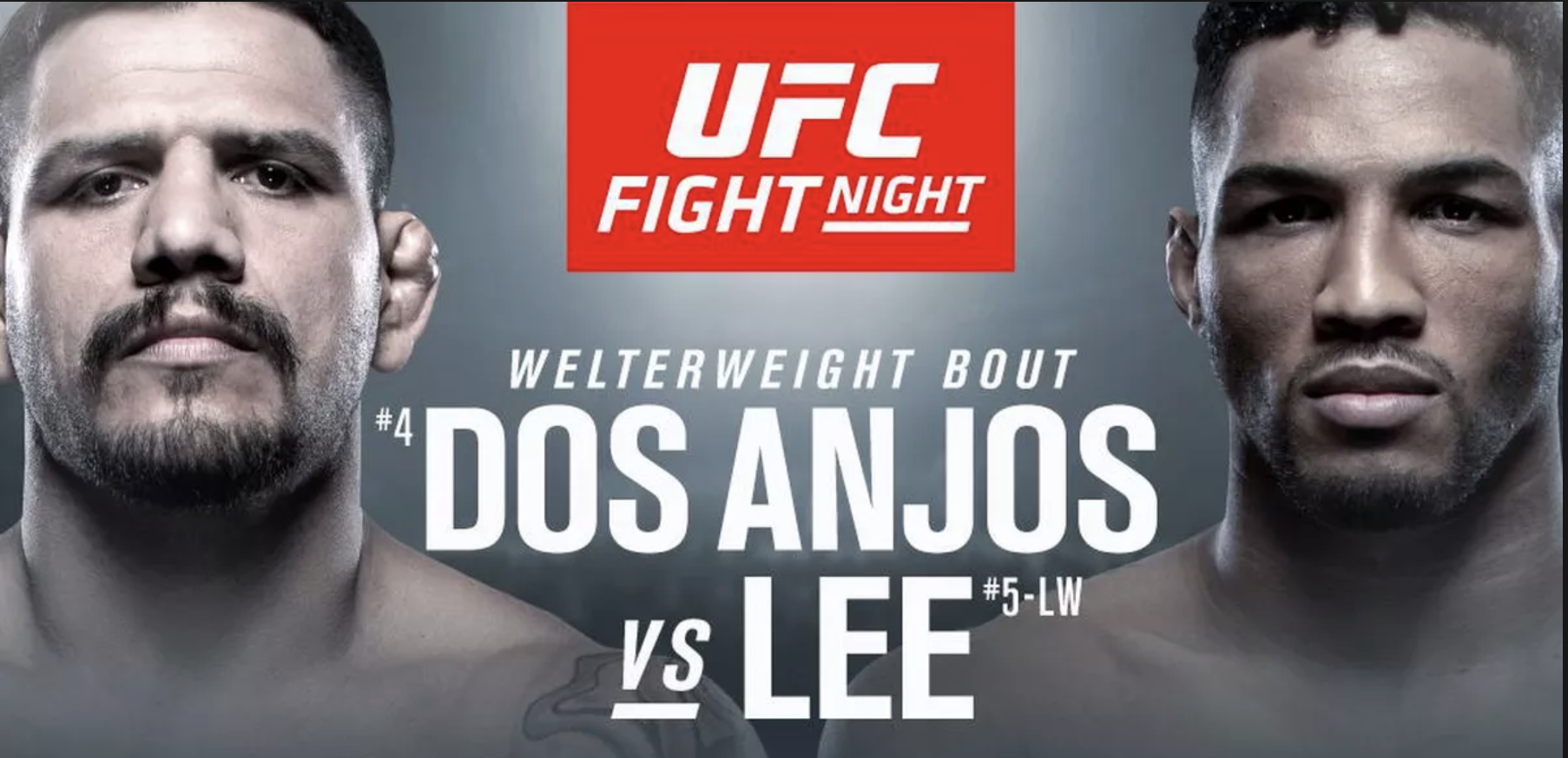 UFC Fight Night 152 Dos Anjos vs Lee -