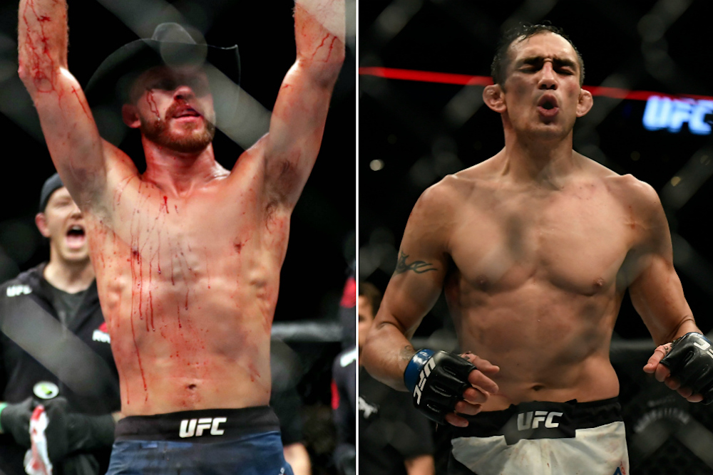 Cowboy cut short cave diving expedition to take short notice Tony Ferguson fight -