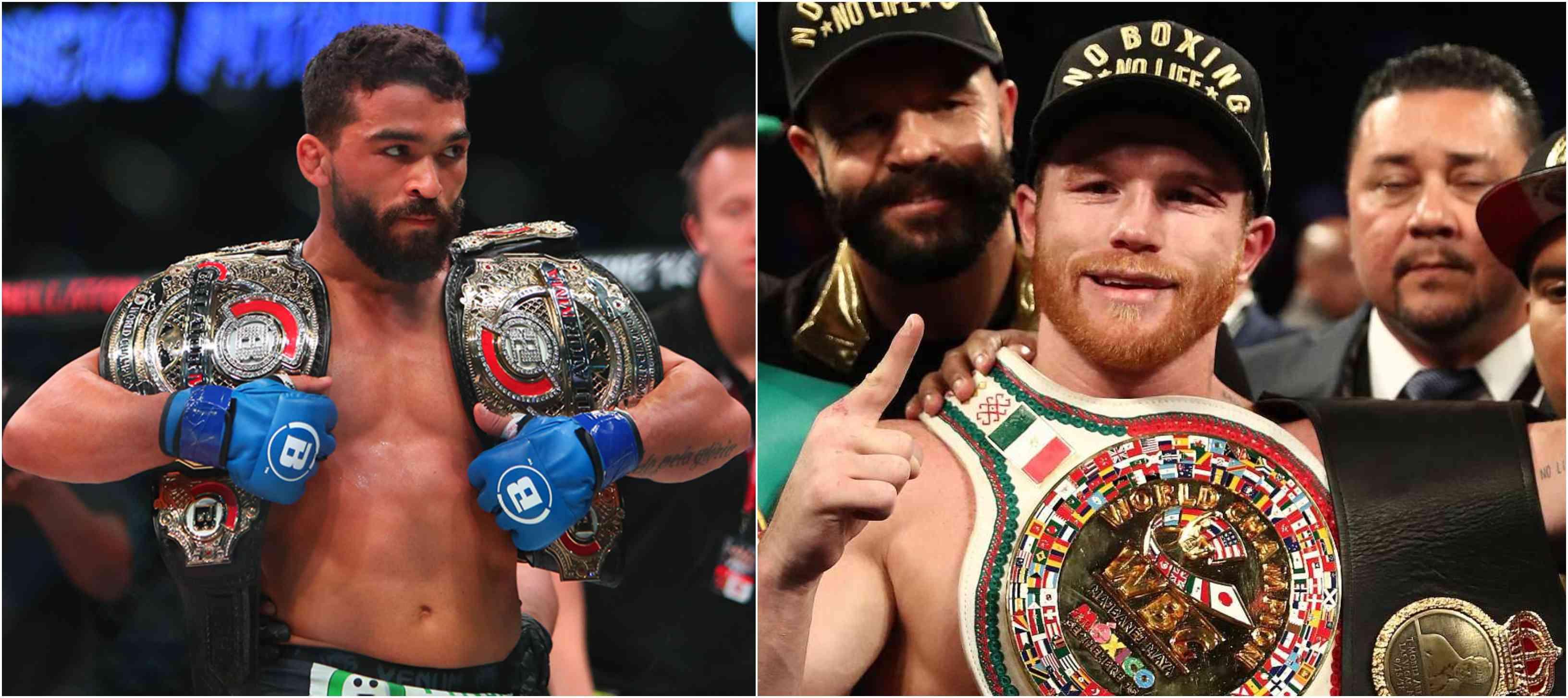 Bellator double champ Patricio Freire calls out Boxing superstar Canelo Alvarez - Patricio