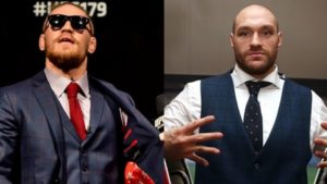 Conor McGregor and Tyson Fury complimentary to each other on Twitter - McGregor