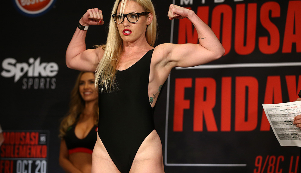 Heather 'The Heat' Hardy to fight Taylor Turner at Bellator 222 - Heather