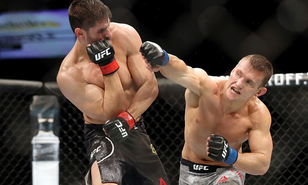 Ian Heinisch calls out Derek Brunson after UFC on ESPN+ 10 win -
