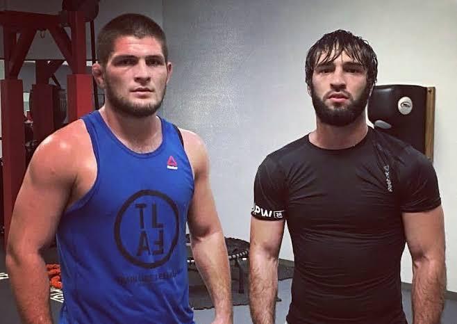 UFC: Khabib reacts to teammates' suspension reduction -