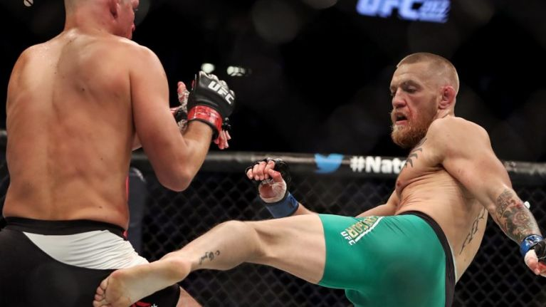 Conor McGregor explains why his trademark movement was compromised against Khabib Nurmagomedov -