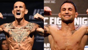 Frankie Edgar and Max Holloway