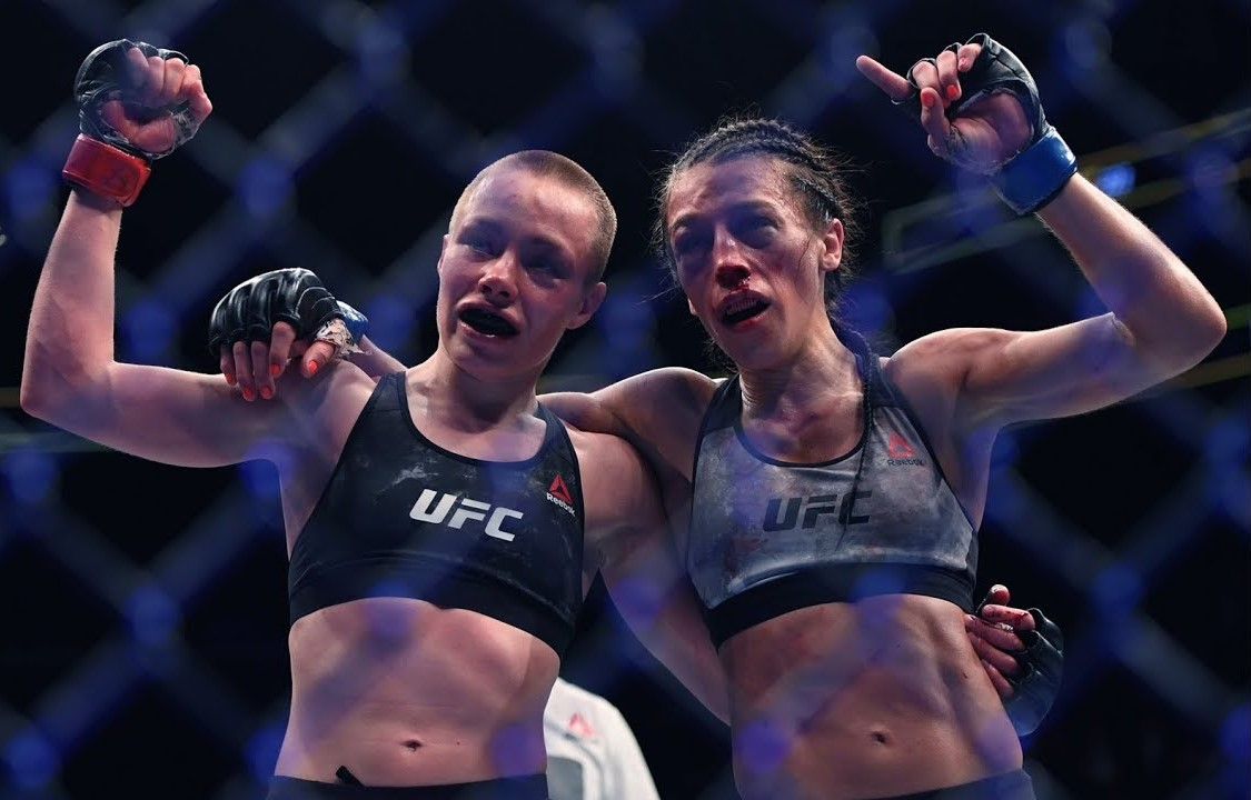 Rose Namajunas 'happy' with Joanna Jedrzejczyk support after tough loss -