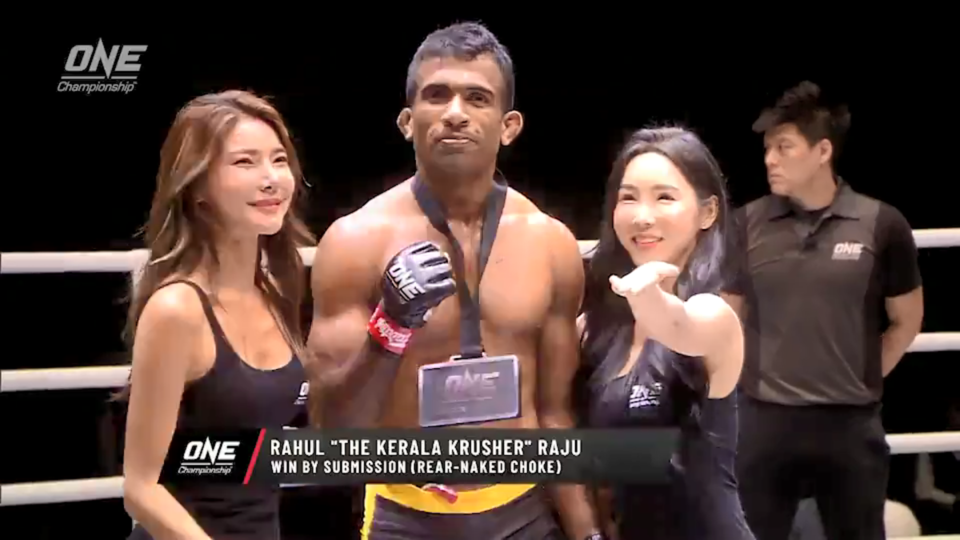 Indian Rahul Raju picks up a fantastic victory while Sage Northcutt is brutally knocked out in ONE debut - Rahul