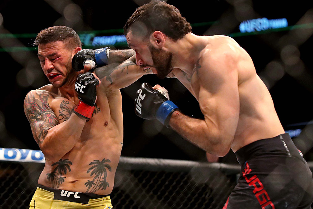 Shane Burgos outlines his plans after Cub Swanson win at UFC Ottawa -