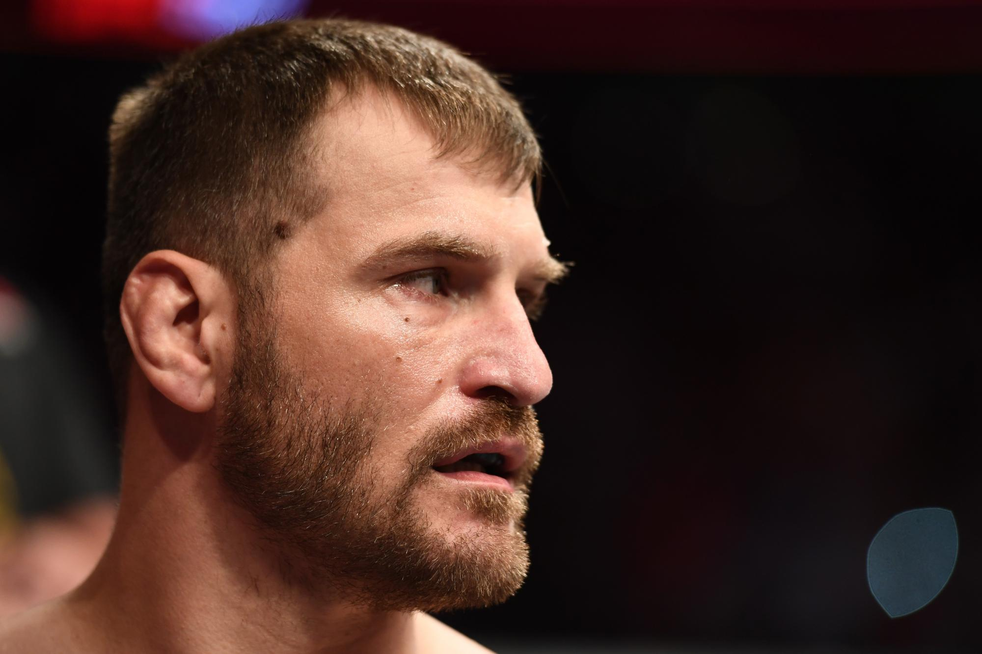 Stipe Miocic reacts to getting HW title rematch against DC - Miocic
