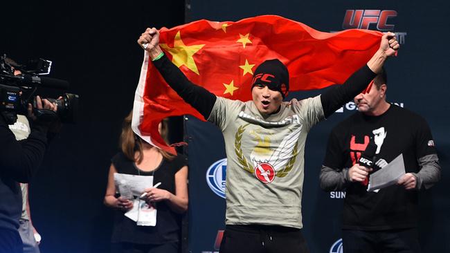 UFC heads to China for the third year running - China