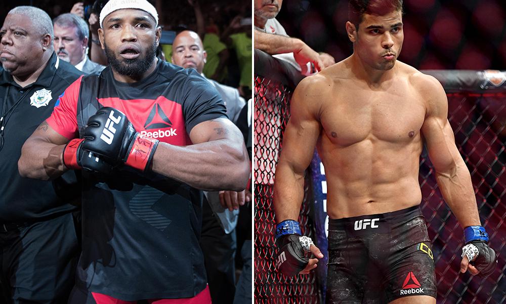 Paulo Costa vs Yoel Romero in the works for UFC 241 - Costa