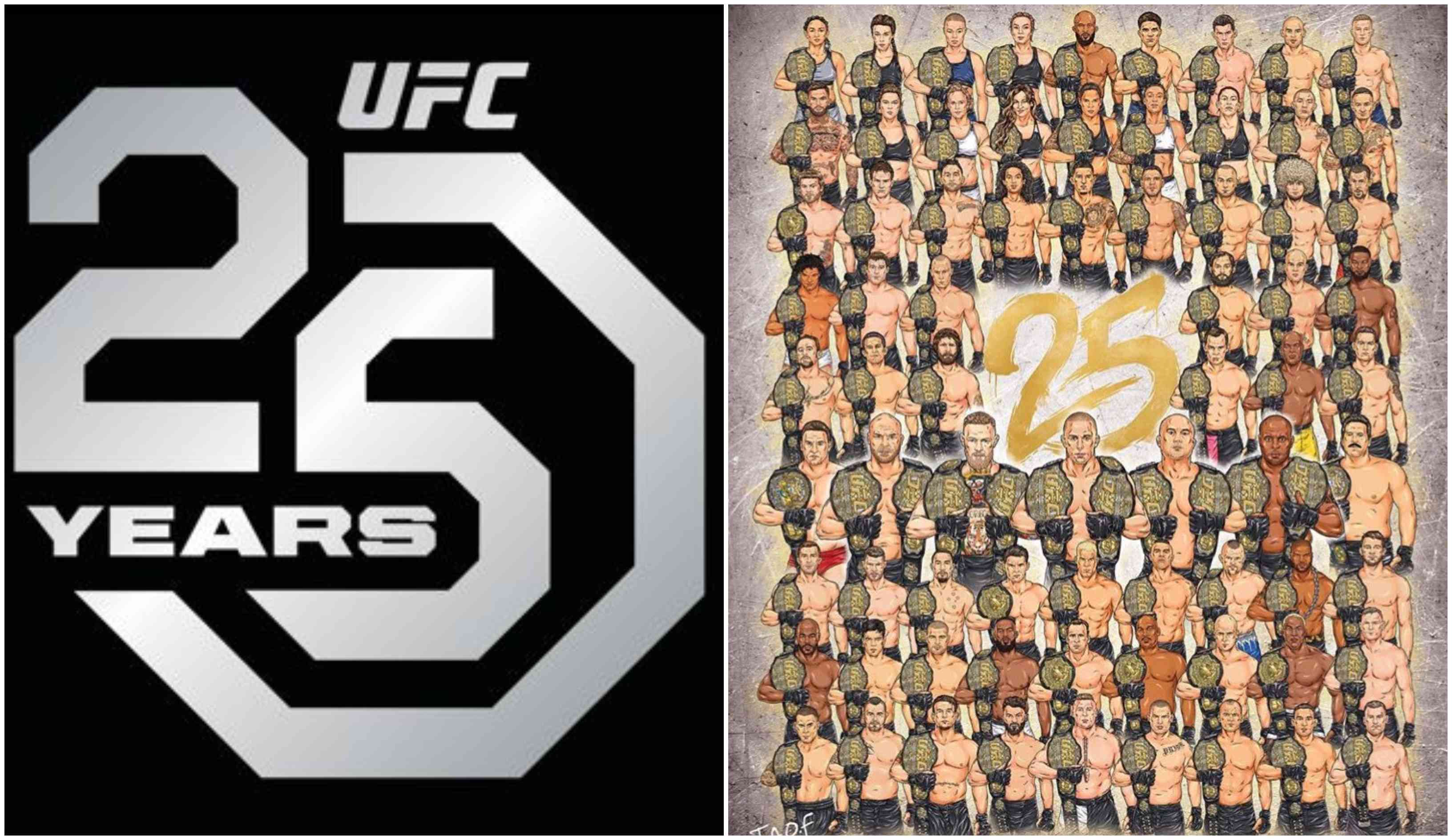 Watch: 25 years of the UFC in short! - UFC