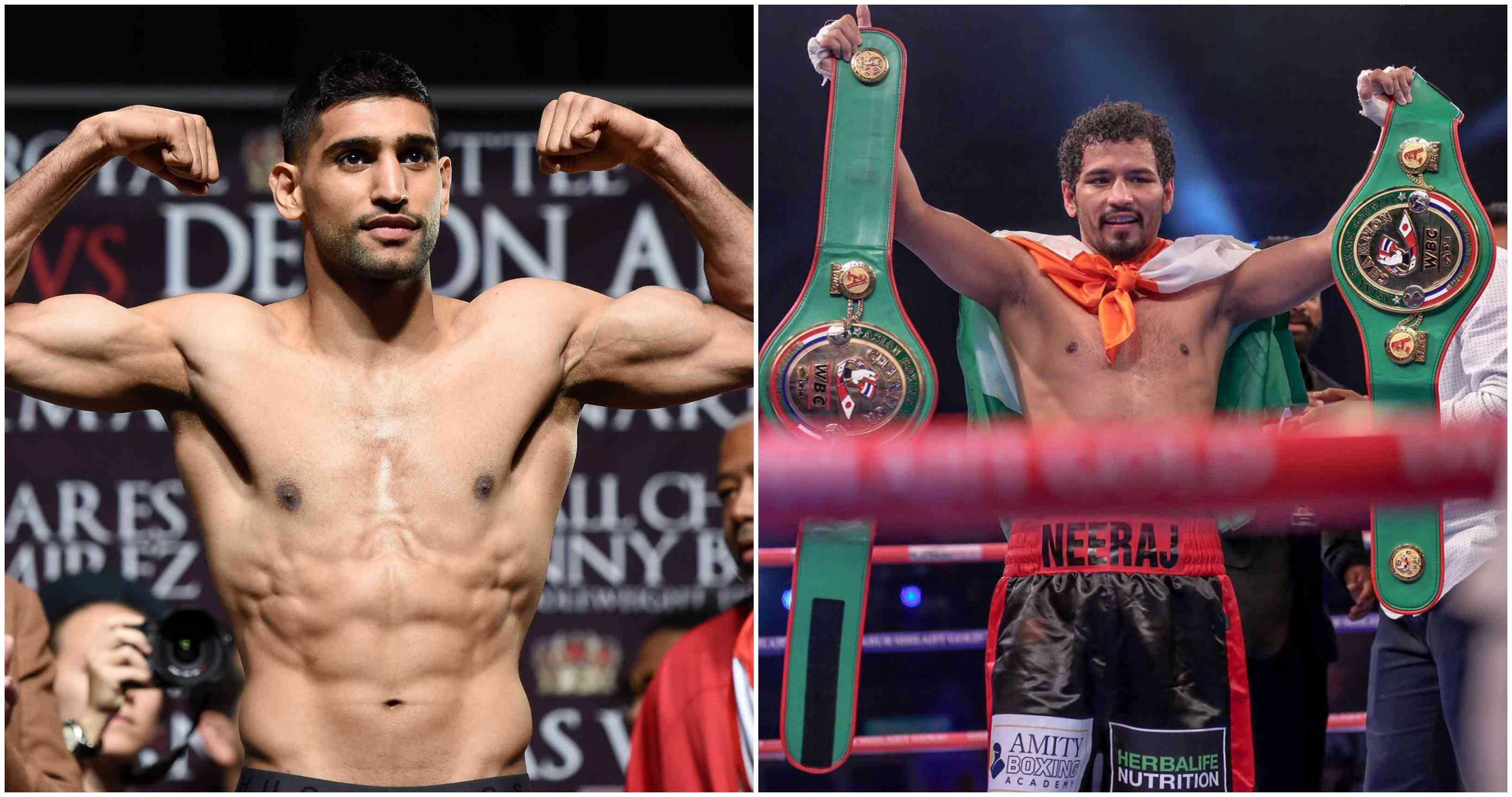 Amir Khan to fight Neeraj Goyat on July 12 in Saudi Arabia - Khan