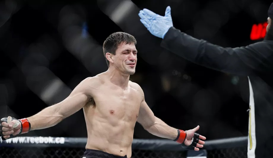 UFC on ESPN 3 Results - Demian Maia Dominates Anthony Rocco Martin, Wins via Unanimous Decision -