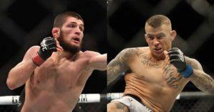 Khabib Nurmagomedov vs Dustin Poirier official for UFC 242 in Abu Dhabi - Poirier