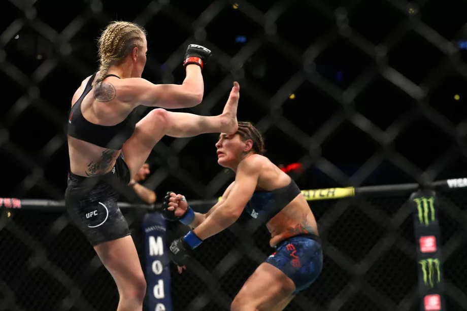 UFC 238 Results - Valentina Shevchenko Sends Jessica Eye into Oblivion with A Vicious Head Kick -