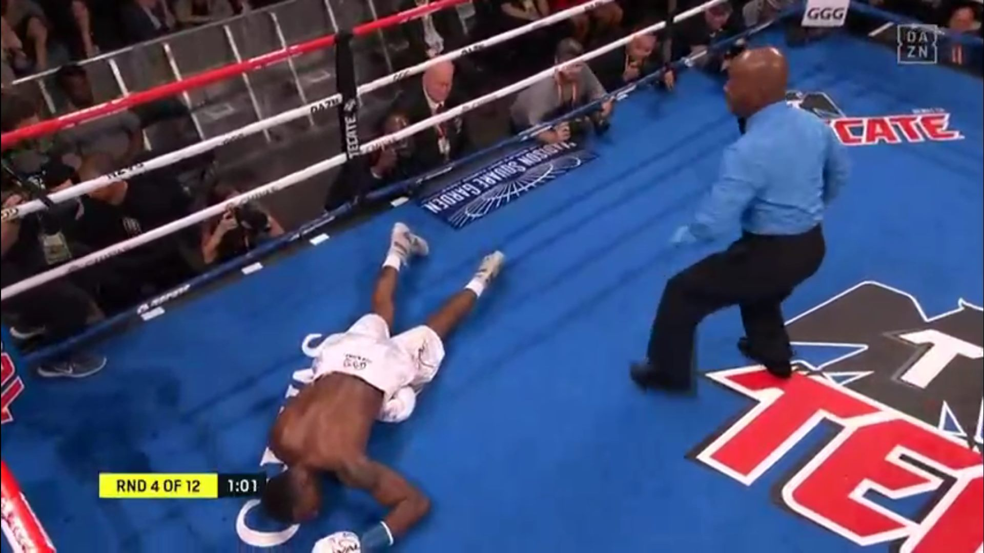 VIDEO: GGG sends Steve Rolls to the shadow realm with a brutal KO - GGG