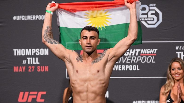 UFC Fight Night 153 Results - Makwan Amirkhani Submits Chris Fishgold with a Slick Anaconda Choke -