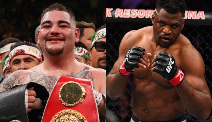 Joe Rogan discusses Francis Ngannou - Andy Ruiz dream fight -