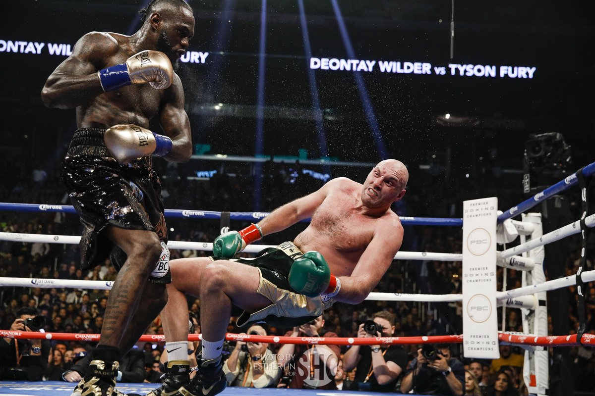 Tyson Fury vs Deontay Wilder rematch signed for early 2020 - Wilder