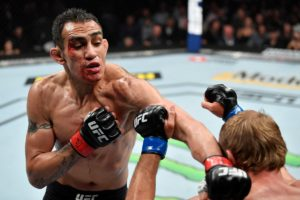 Twitter reacts to the late punch and controversial ending in Tony Ferguson vs Cowboy Cerrone - Ferguson