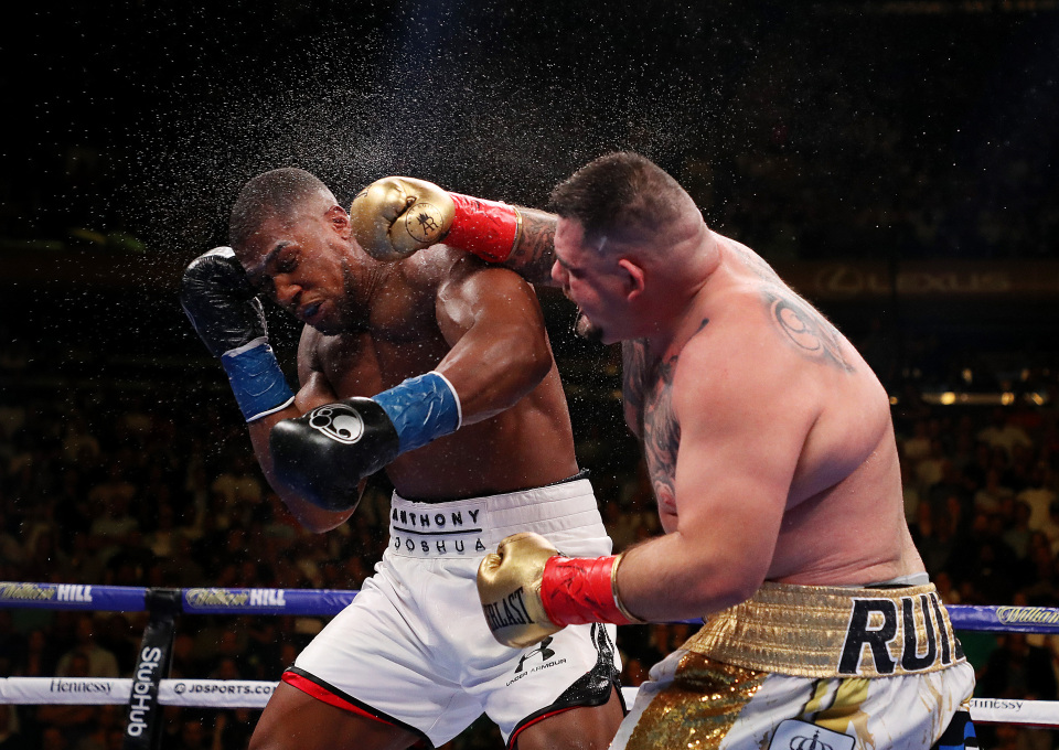 CONFIRMED: Rematch between Anthony Joshua and Andy Ruiz Jr will take place in November/December - Anthony
