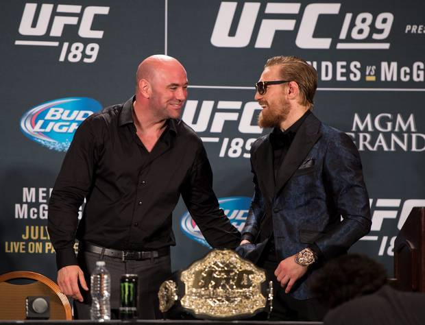 Dana White on Conor McGregor: He may really never fight again - White