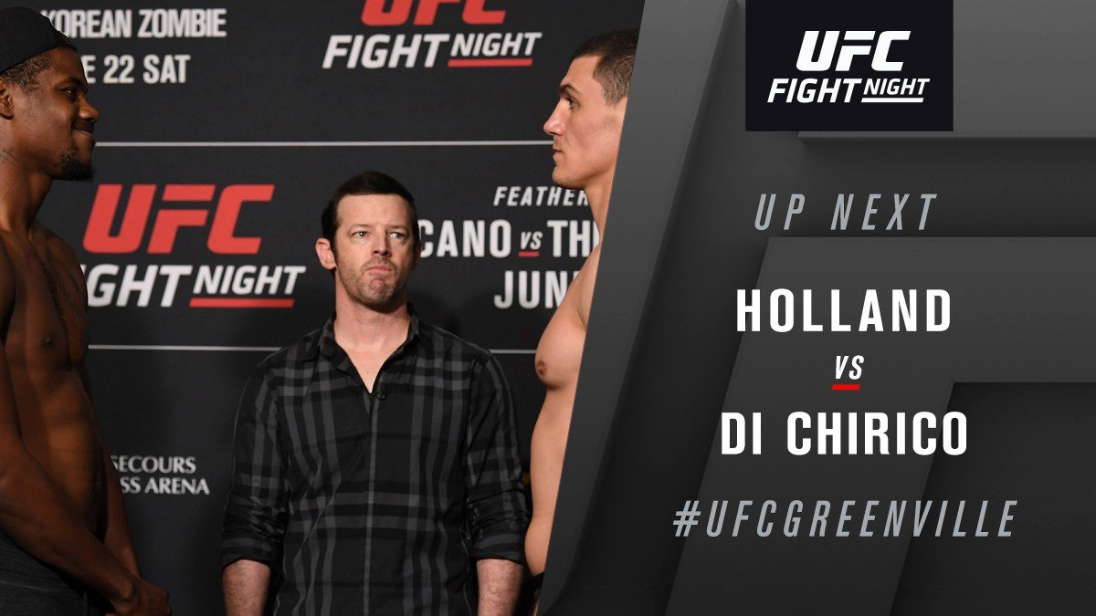 UFC Fight Night 154 Results - Kevin Holland defeats Alessio Di Chirico via Unanimous Decision -