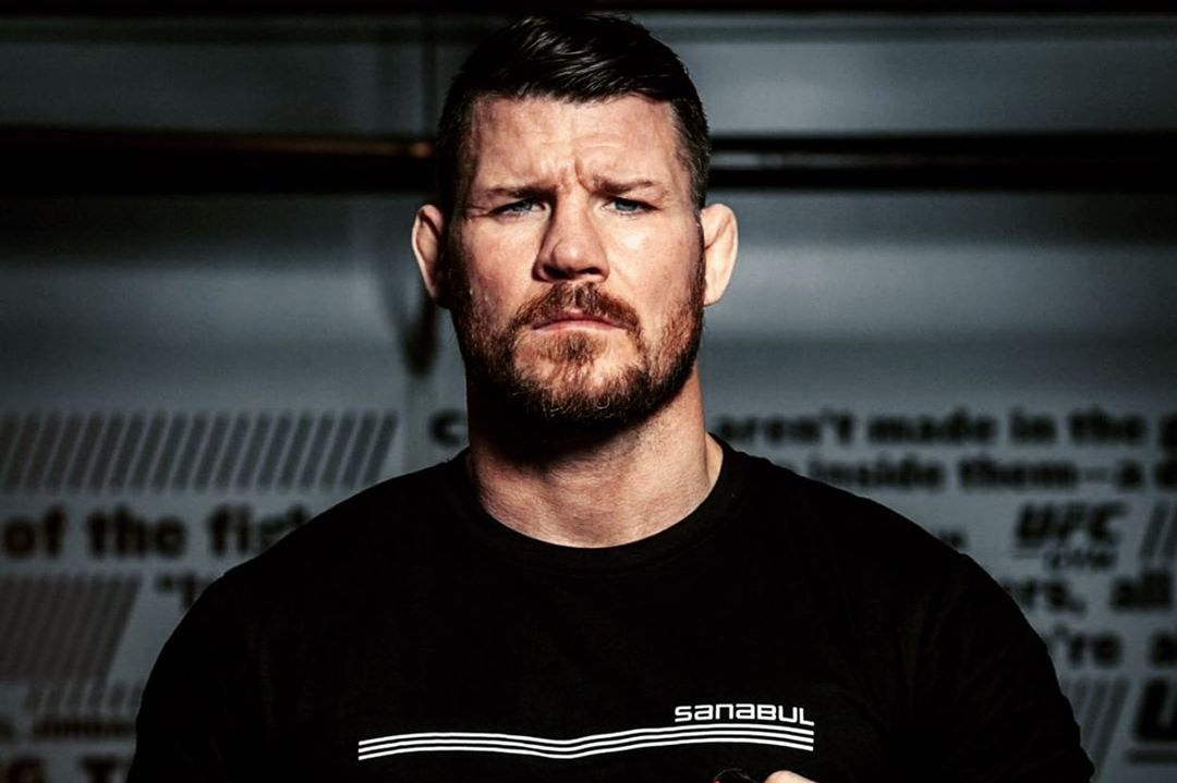 Michael Bisping reveals the launch date for his upcoming autobiography - Bisping