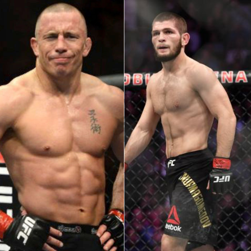 Khabib negotiates special clause with UFC for GSP superfight - Khabib Nurmagomedov