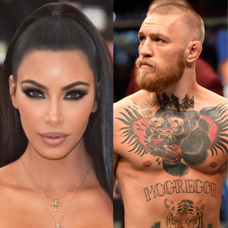 Conor McGregor and Kim Kardashian are related, the Irishman welcomes her to the 'family' - Conor McGregor