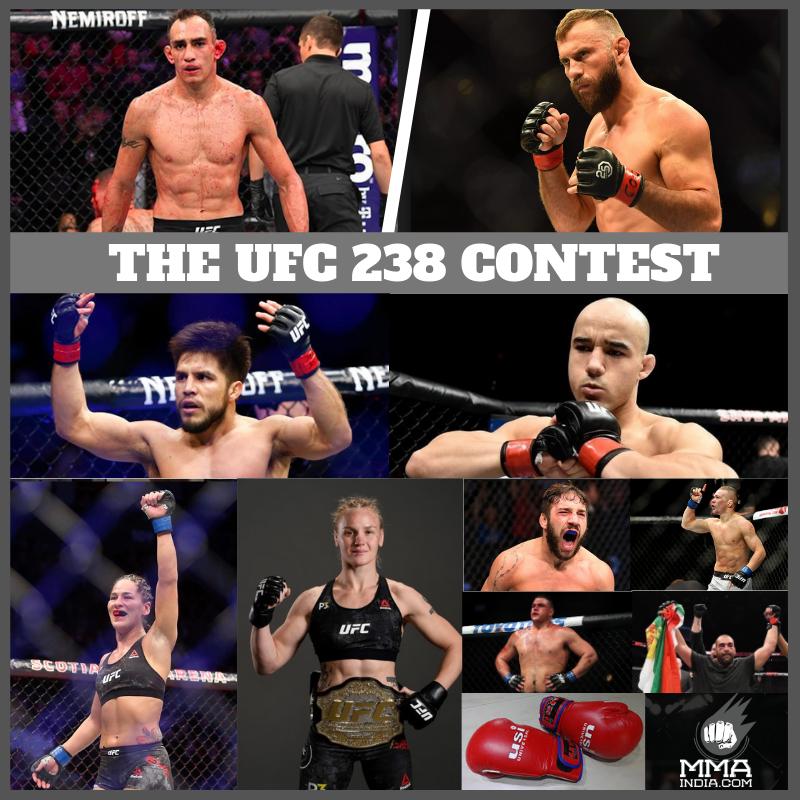 THE UFC 238 CONTEST -